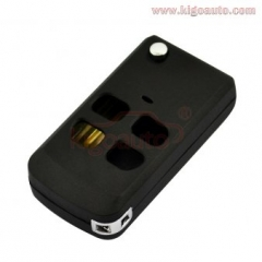 Flip key shell 4 button For Kia Sorento