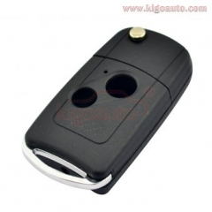 Refit flip key shell 2 button for Honda