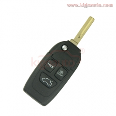 Refit remote key shell 3 button for Volvo S40 S60 S80 V40 V70 XC90