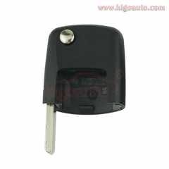 Square Remote Flip Key Blade HU66 for Volkswagen Beetle Bora Golf Passat Polo 2000-2005
