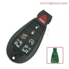 #10 Fobik key 7 button remote 434Mhz M3N5WY783X for Jeep Commander Grand Cherokee 2009