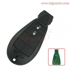 #0 68066859AD Caliber,Journey,Grand Cherokee,Voyager Fobik key remote 2 button 434Mhz for Chrysler European model No panic