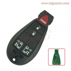 #8 M3N5WY783X fobik key 434Mhz for Dodge 4 button with panic before 2012