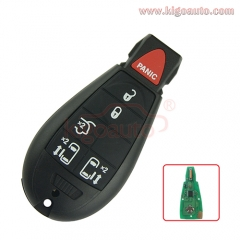 #9 Fobik key remote 5 button with panic 434Mhz IYZ-C01C for Dodge Grand Caravan 2009 2010 2011 2012