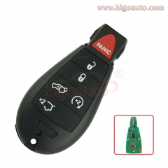 #7 Fobik key remote 434Mhz IYZ-C01C for 2008 2009 2010 2011 2012 Jeep Grand Cherokee