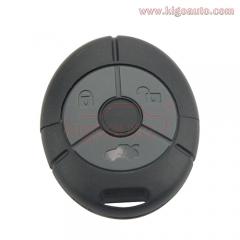 Remote fob case 3 buton for MG TF ZR ZS key