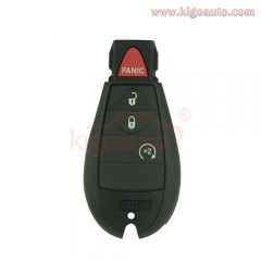GQ4-53T fobik key shell 4 button for Jeep Cherokee 2014 2015