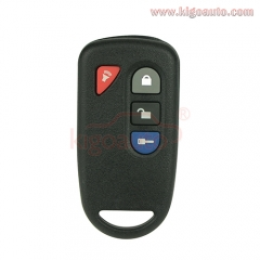 Remote fob 4 button 433.9Mhz for Hyundai