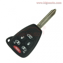M3N5WY72XX Remote key 6 button 315Mhz for Dodge Caravan