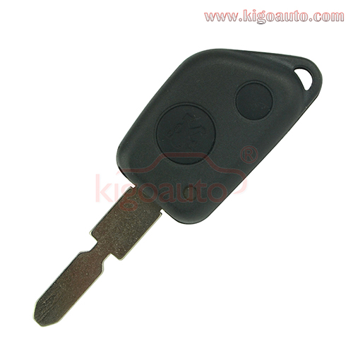 Remote key shell 2 button for NE78 blade for Peugeot 106 205 206 306 405 406