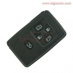Smart key case 5 button for Toyota Avalon Camry