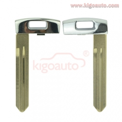 Smart key insert for Kia emergency key blade