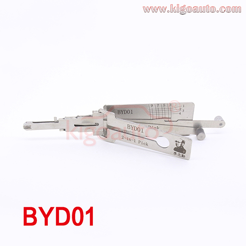 Lishi 2in1 Pick BYD01