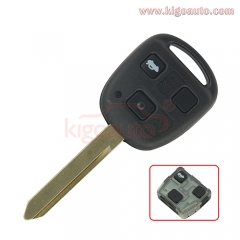 VALEO 736670-A Remote key 3 button TOY47 for Toyota Avensis 2004-2009 89071-05010