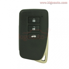 Refit smart key case 3 button for Lexus