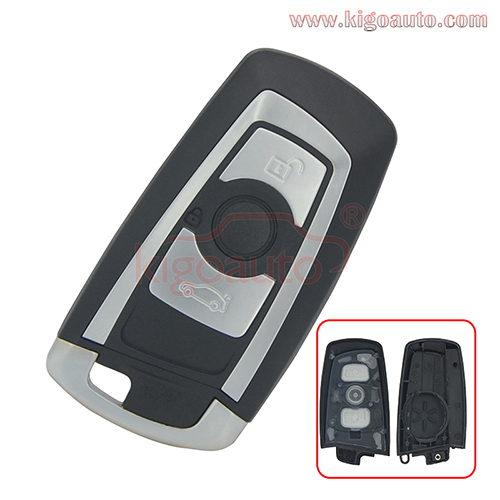 Smart key case 3 button for BMW F series 2009 2010 2011 2012