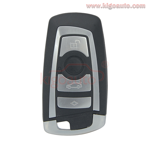 YGOHUF5662 smart key 4 button 315Mhz 434Mhz 868Mhz HITAG-PRO ID49-PCF7953P chip for BMW F series 2009 - 2012 4008C-HUF5662 (with Foot Kick Sensor)