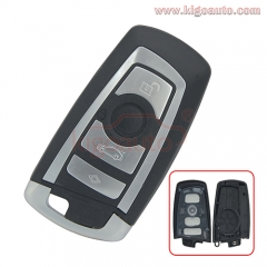 Smart key case 4 button for BMW F series 2009 2010 2011 2012