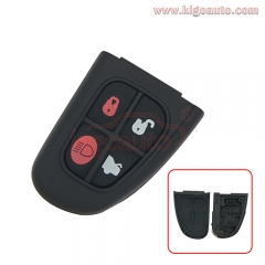 Remote key fob shell case 4 button 1X43-15K601-AD for Jaguar XJ8 S Type 2001 - 2008