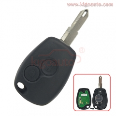 Remote key 2 button NE72 434Mhz PCF7946 PCF7947 ASK for Renault