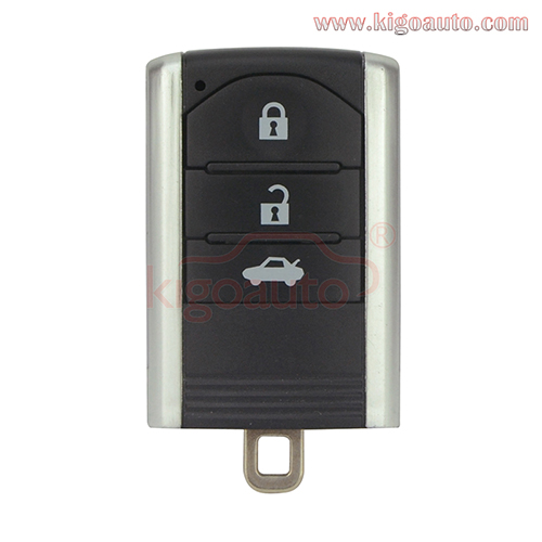 Smart Key Case Shell 3 Button For Honda Acura MDX RDX TL