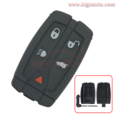 Smart key cover 5 buttton for Landrover LR2 2008 2009 2010 2011
