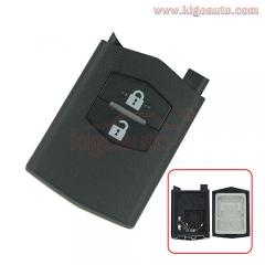 Remote key part shell 2button for Mazda 3 5 6