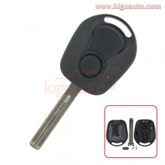 Remote key shell 2 button for Ssangyong Rexton RX7