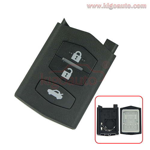 Remote case 3 button for Mazda MX-5
