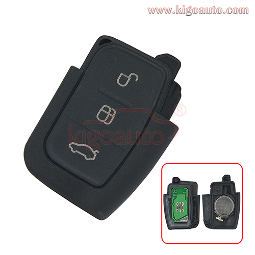 Remote key fob 3button 434Mhz for Ford Fiesta Galaxy Focus C-Max S-Max Kuga 2008 2009 2010