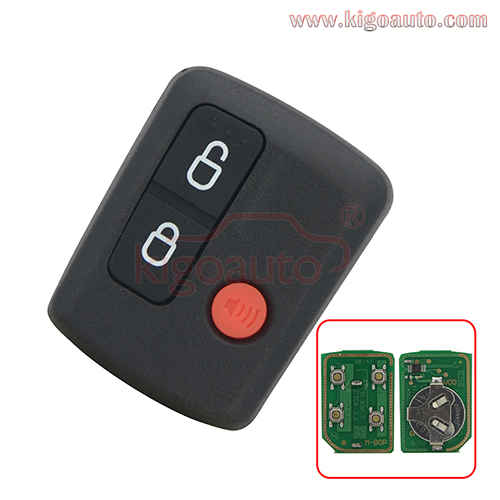 Remote fob 3 button 434Mhz for Ford BA-BF Falcon Territory wagon