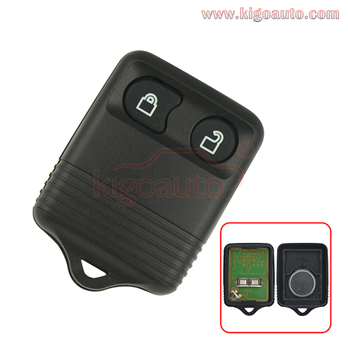 Remote fob 2 button 434Mhz for Ford maverick escape Tourneo Connect 2002 2003 2004