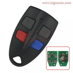 Remote fob 304Mhz 4 button for Ford AU UTE