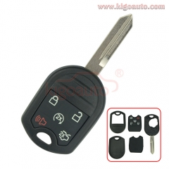 Remote key shell 5 button FO38 for Ford Edge