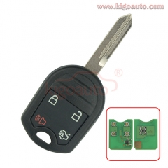 CWTWB1U793 Remote key 4 button 315Mhz 434Mhz with 4D63 80 BITfor Ford Edge 164-R8073