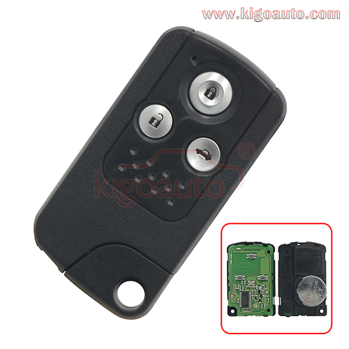 Smart key 3 button 434Mhz for Honda Accord Spirior Crosstour 2013 2014 2015 2016
