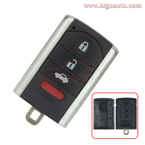 Smart key case shell KR5434760 for Honda Acura ILX 2013-2014