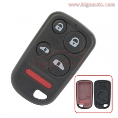Remote fob case 5 button for Honda Odyssey 2001 2002 2003 2004