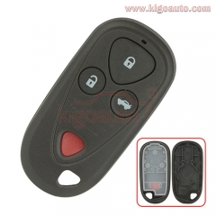 FCC ID E4EG8D-444H-A Remote fob case 2 button with panic for Acura CL RL TL RSX 2003