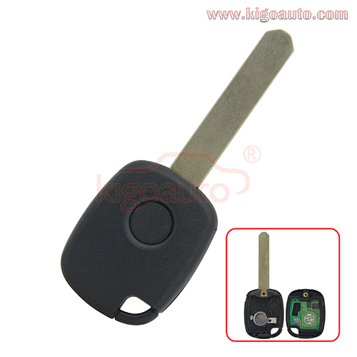 Remote key 1 button 314Mhz FSK for Honda CR-V Odyssey Fit City Accord