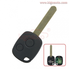 Remote key 2 button 314Mhz FSK for Honda Accord Civic CRV Pilot Fit 2003- 2009