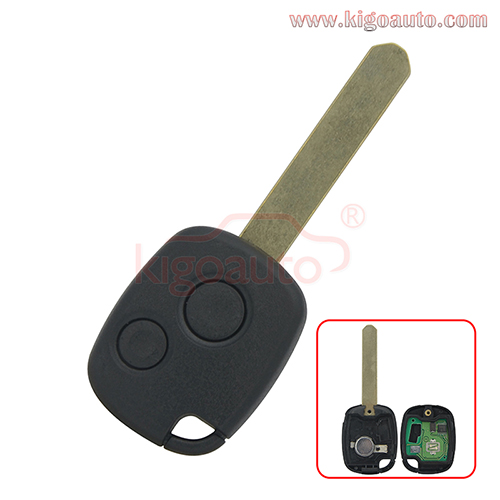 Remote key 2 button 312Mhz FSK for Honda Accord Civic CRV Pilot Fit 2003- 2009