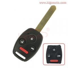 MLBHLIK-1T Remote key 3 button with panic 313.8 Mhz for Honda CRV Fit