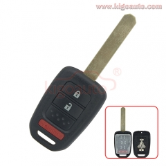 Remote key shell 2 button with panic MLBHLIK6-1T for Honda Accord Civic CRV 2013 2014 2015