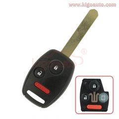 OUCG8D-380H-A remote key 2 button with panic 313.8Mhz for Honda Accord 2003 - 2007