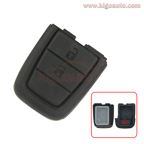 Remote key shell 2 button with panic for Holden