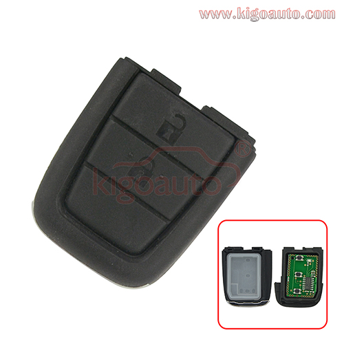 Remote key part 2 button with panic 434Mhz for Holden VE Commodore