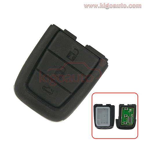 Remote key part 3 button with panic 434mhz for Holden VE Commodore