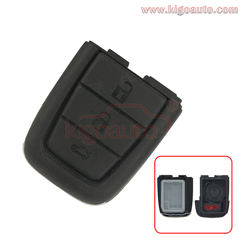 Remote key shell 3 button with panic for Holden VE Commodore