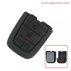 Remote key shell 4 button with panic for pontiac
